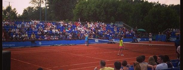 Национальный теннисный центр им. Х. А. Самаранча is one of Roman : понравившиеся места.