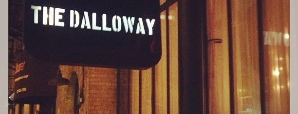 The Dalloway is one of NYC eats.