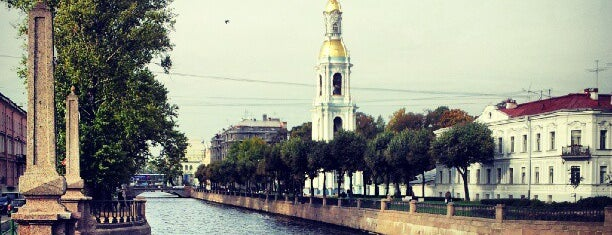 The Seven Bridges Point is one of Интересное в Питере.