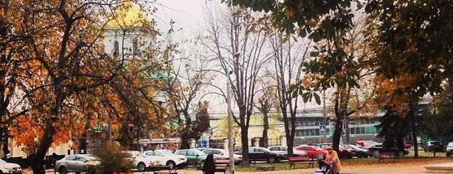 Парк Культурно-мистецького центру НаУКМА is one of Locais curtidos por Валентина.