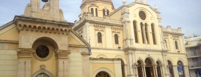 Ιερός Μητροπολιτικός Ναός Αγίου Μηνά is one of Dima : понравившиеся места.