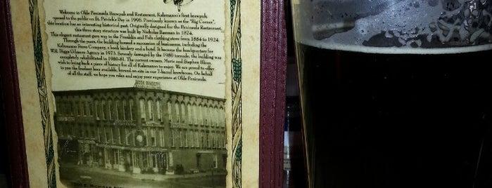Olde Peninsula Brewpub & Restaurant is one of Posti che sono piaciuti a Bill.
