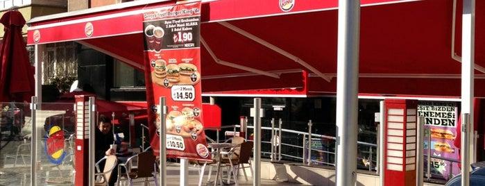 Burger King is one of Hayat Canan'ın Beğendiği Mekanlar.