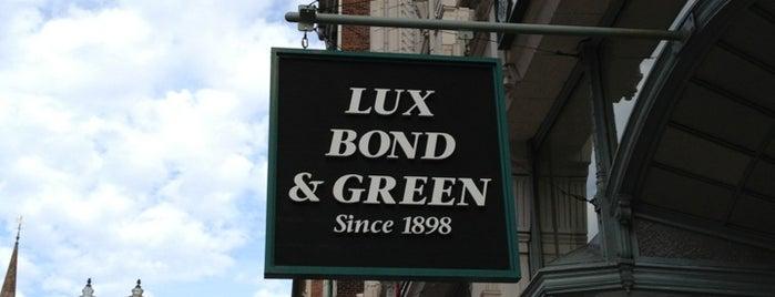 Lux Bond & Green is one of Lugares favoritos de Julian.