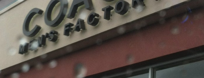 Coach Factory Outlet is one of Joao 님이 좋아한 장소.
