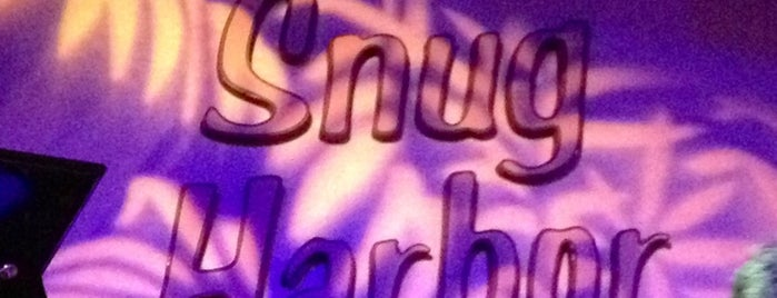 Snug Harbor Jazz Bistro is one of Eric's Bachelor Party.