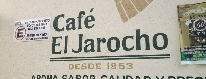 Café El Jarocho is one of DF BF.