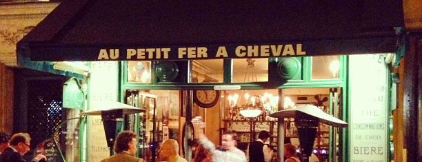 Au Petit Fer à Cheval is one of Anthony Bourdain: The Layover.
