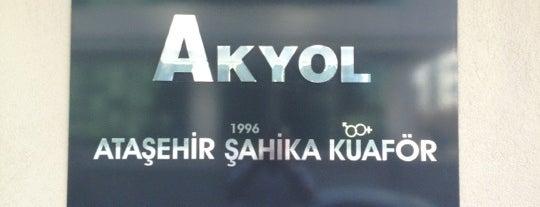 Vedat Akyol Kuaför ve güzellik Salonu is one of Orte, die Hakan gefallen.