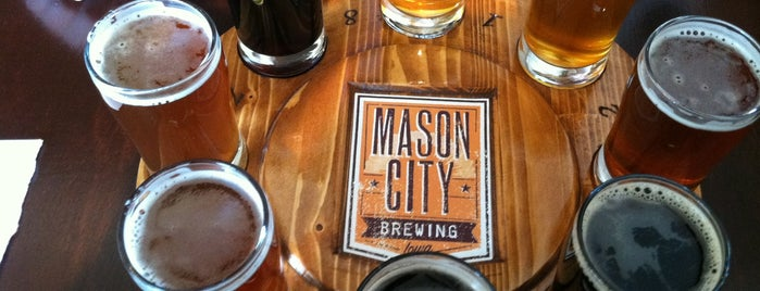 Mason City Brewing is one of An Iowa Brewery Tour.