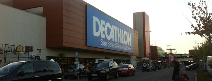 Decathlon San Sebastián de los Reyes is one of Madrid.