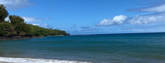 Kalihiwai Bay is one of 🚁 Hawaii 🗺.