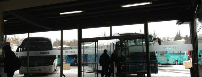 Estación de Autobuses is one of segovia.