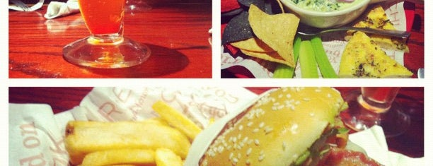 Red Robin Gourmet Burgers and Brews is one of My Best Eats.