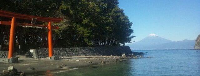 御浜岬 is one of 伊豆.