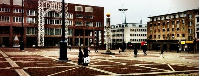 Friedensplatz is one of Dortmund - must visits.