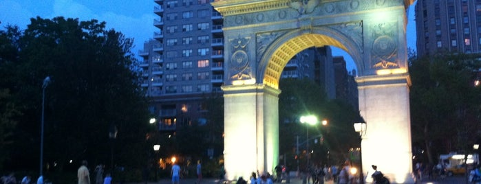 Washington Square Park is one of NYC Beat.