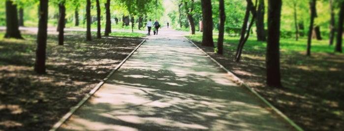 Парк Островского is one of AngelOFFkaさんの保存済みスポット.