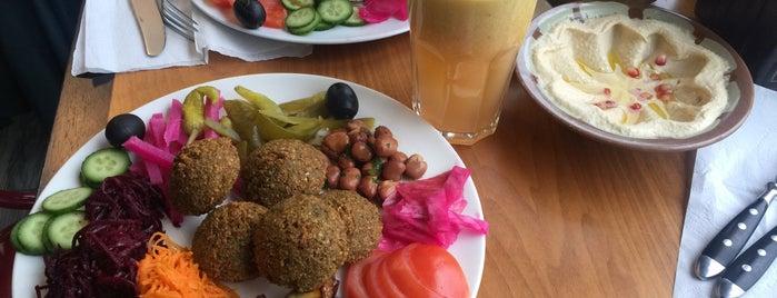 Vegan na Moliera is one of Falafel.