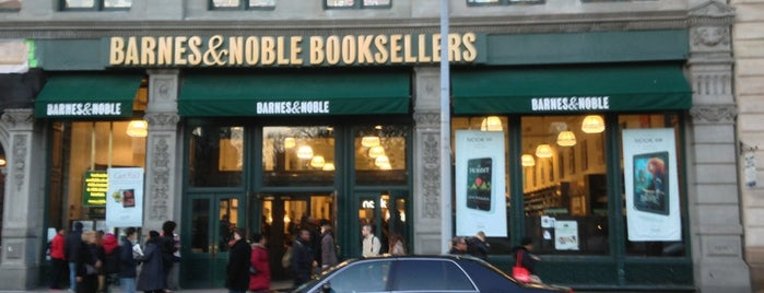 Barnes & Noble is one of Stay Cool: NYC's Best Places for Air-Conditioning.