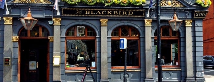 The Blackbird is one of London.