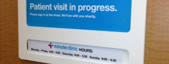 MinuteClinic is one of Posti che sono piaciuti a Christopher.