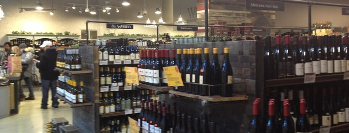 Whole Foods Wine Store is one of Tempat yang Disimpan Kevin.