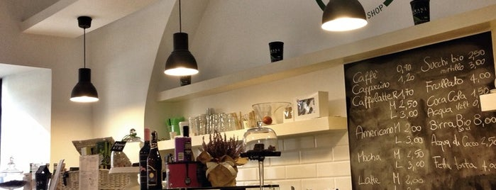 Vanilla - Organic Bakery & Coffee Shop is one of Food To-Do a Roma.