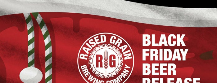Raised Grain Brewery is one of Locais salvos de Brent.