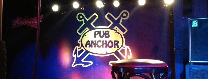 Restaurang & Pub Anchor is one of สถานที่ที่บันทึกไว้ของ Jasmine.
