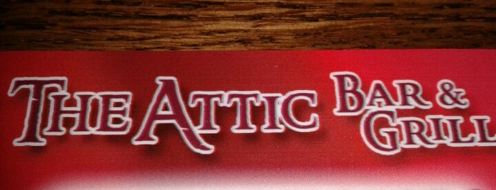 The Attic is one of The World Outside of NYC and London.