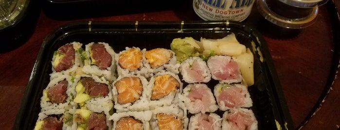 Sawa Sushi is one of Orte, die Jason gefallen.