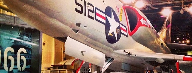 Intrepid Sea, Air & Space Museum is one of Affinia Manhattan's Local Tips.
