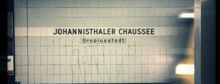 U Johannisthaler Chaussee is one of U & S Bahnen Berlin by. RayJay.