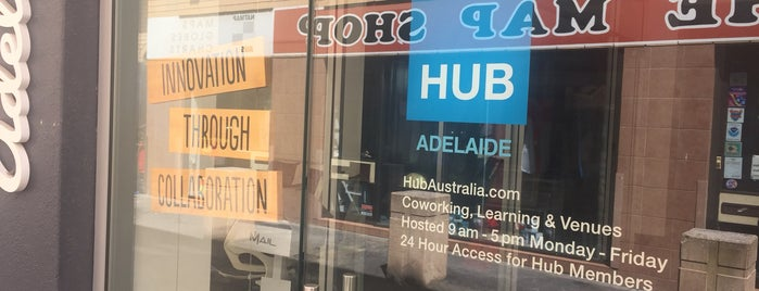 Hub Adelaide is one of Rad. (Alaide).