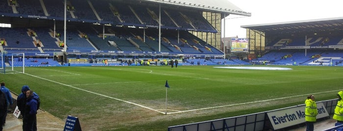 Goodison Park is one of Big Matchs's Today!.