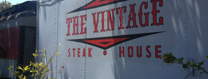 The Vintage Steakhouse is one of Food of note.