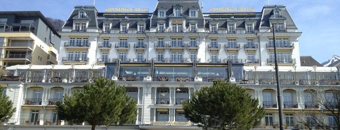 Grand Hôtel Suisse-Majestic is one of Locais curtidos por Winda.