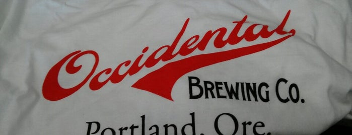 Occidental Brewing Company is one of Oregon Breweries.