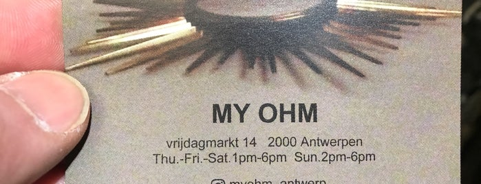 my ohm is one of Antwerp.