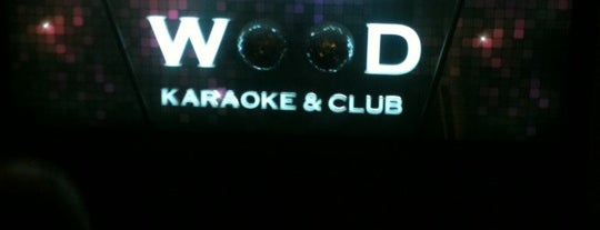 Wood Karaoke is one of Night.