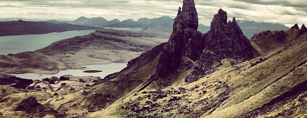 Old Man of Storr is one of Tempat yang Disimpan Sevgi.