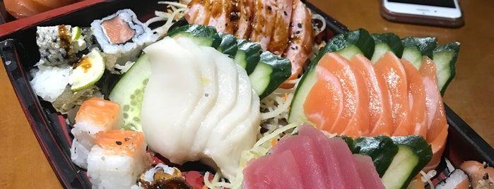 Sushi Yato is one of สถานที่ที่ Tati ถูกใจ.