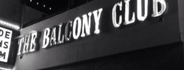 Balcony Club is one of Lugares favoritos de Tammy.