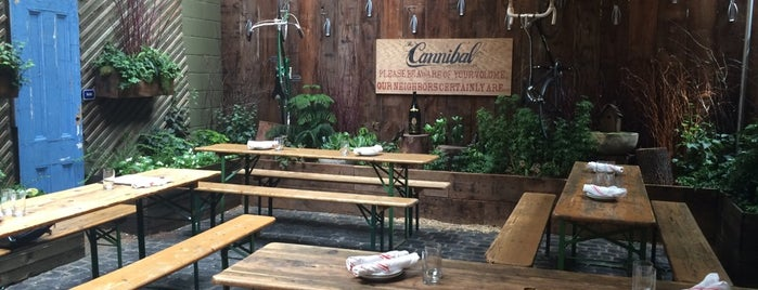 The Cannibal Beer & Butcher is one of Beer Gardens-To-Do List.