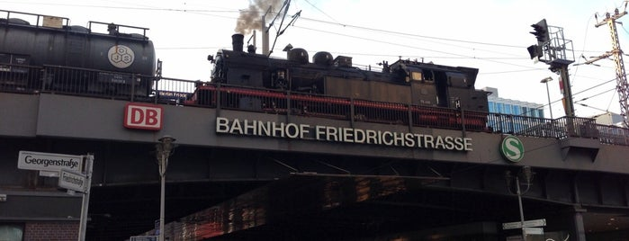 Bahnhof Berlin Friedrichstraße is one of Berlin Places To Visit.