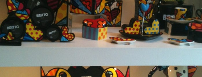 Galeria Romero Britto is one of Favoritos en el D.F..
