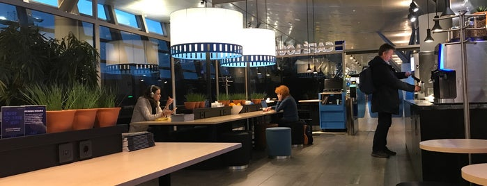 SAS Café Lounge is one of Airport Lounges.