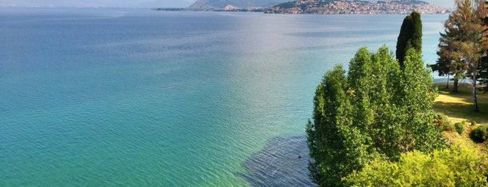 Golden Beach Park is one of Ohrid.