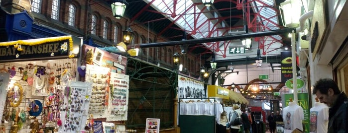 George's Street Arcade Market is one of Dublin.